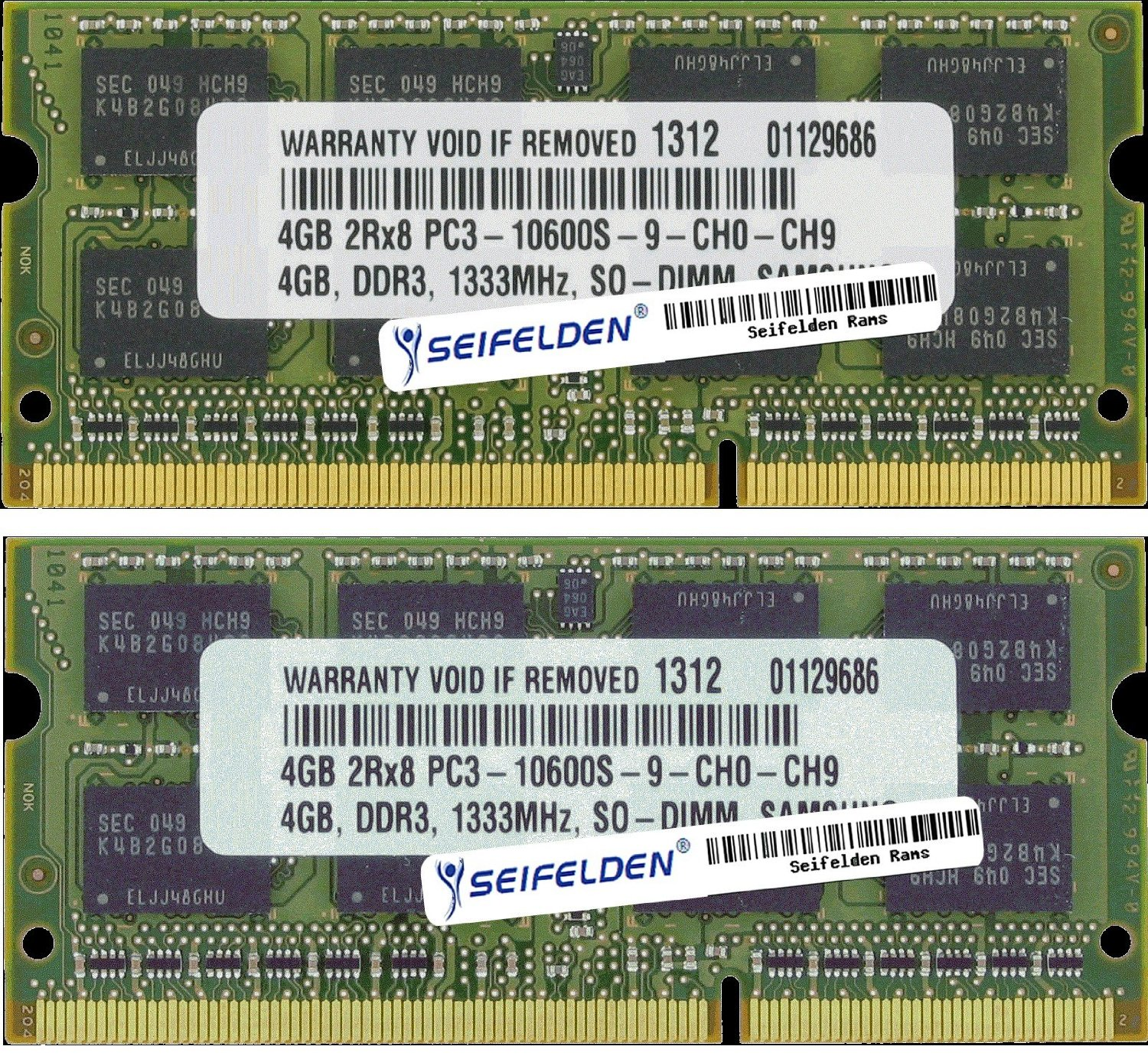 Seifelden 8GB (2X4GB) Memory RAM for HP Pavilion G6-2230U...