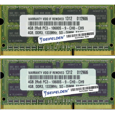Seifelden 8GB (2X4GB) Memory RAM for HP Envy dv6-7213nr Laptop Memory Upgrade