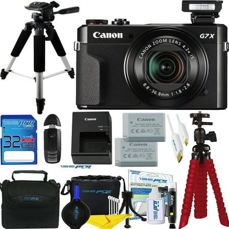 Canon PowerShot G7 X Mark II 20.1MP 4.2x Optical Zoom Digital Camera + Expo Accessories Bundle - International Version 100 X Zoom Mini
