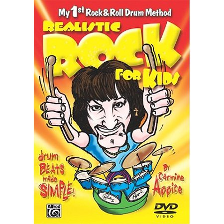 My 1st Rock & Roll Drum Method: Realistic Rock for Kids: Drum Beats Made Simple! (Audiobook)
