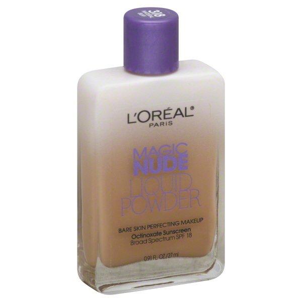 Amazon.com : LOreal Paris Magic Nude Liquid Powder Bare