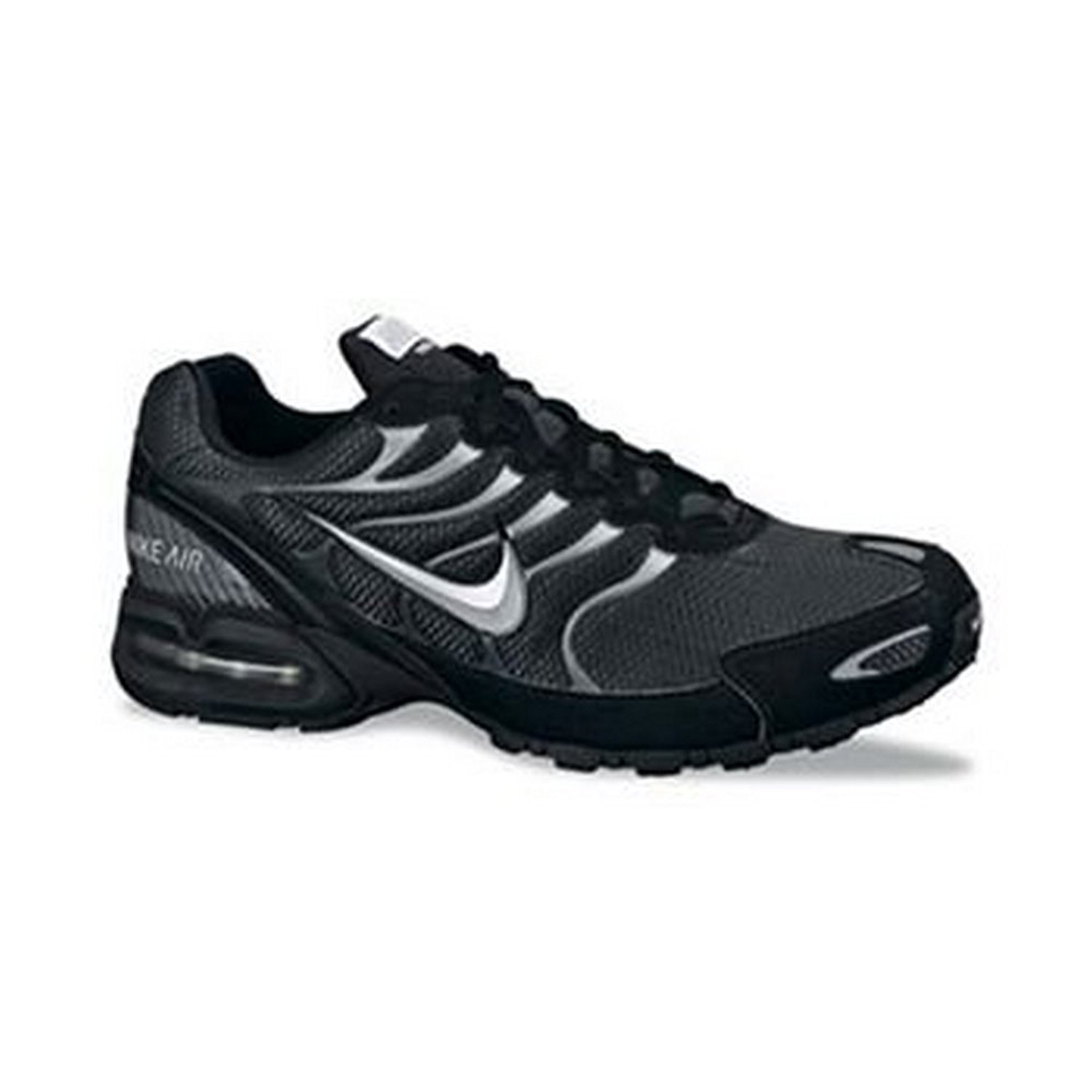 Men's Nike Air Max Torch 4 Running Shoe Anthracite Metallic Silver Black by Nike