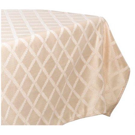 Lenox Laurel Leaf 70-by-104-Inch Oblong / Rectangle Tablecloth,