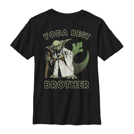 Star Wars Boys' Yoda Best Brother T-Shirt