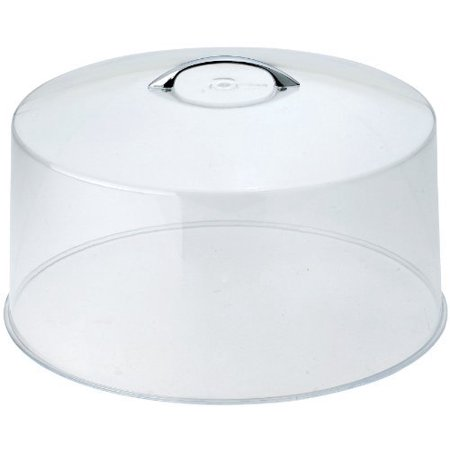 Winco CKS-13C Round Acrylic Cake Stand Cover, 12-Inch, Clear