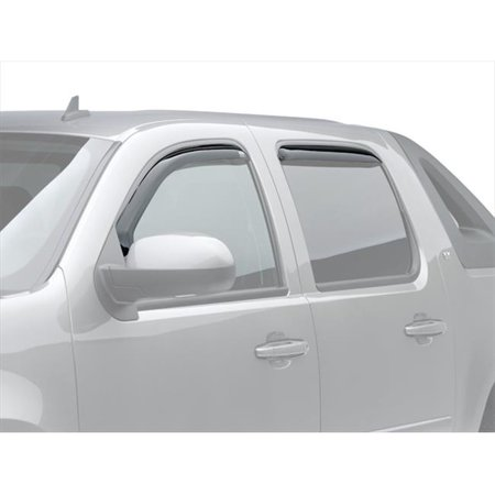 571701 Slimline In-Channel Window Visors, 4 Piece
