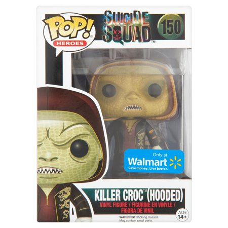 Pop  Heroes Suicide Squad 150 Killer Croc  Hooded  Vinyl Figure Age 14