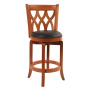 """Boraam 24"""" Cathedral Swivel Counter Stool , Multiple Colors"""