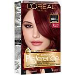 L'Oreal Paris Superior Preference Permanent Hair Color, Intense Dark Red RR-04 1.0 ea(pack of 6)