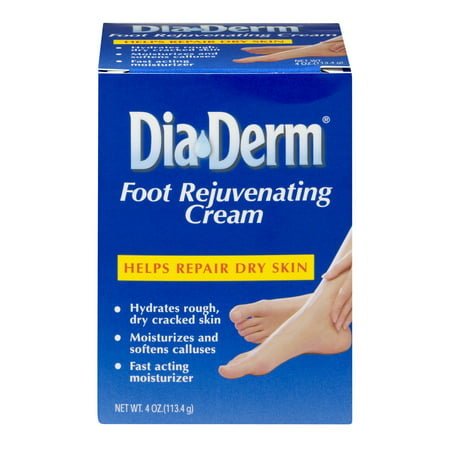 DiaDerm Foot Rejuvenating Cream, 4 Oz