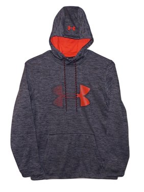 71f921486ed Product Image Under Armour Mens Graphic Logo Hoodie 1321734 Black Heather  Extra Large