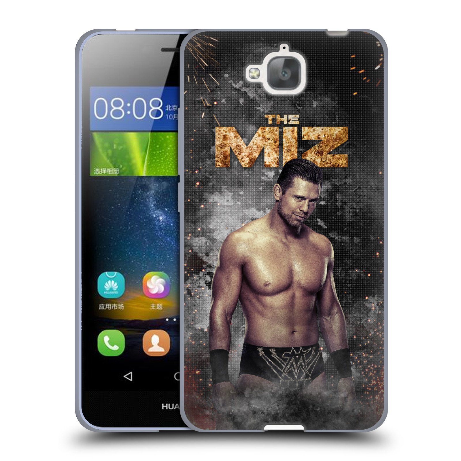 OFFICIAL WWE THE MIZ SOFT GEL CASE FOR HUAWEI PHONES 2