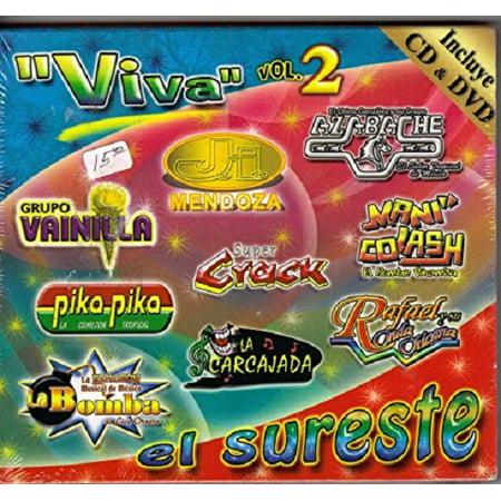 """""""Viva"""" El Sureste Vol.2 Cd"""