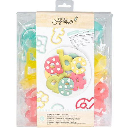 American Crafts Sweet Sugarbelle Cookie Cutter Set 27/Pkg-Alphabet