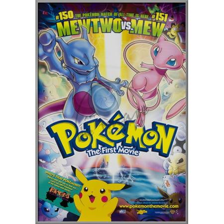 pokemon the first movie framed movie poster print regular