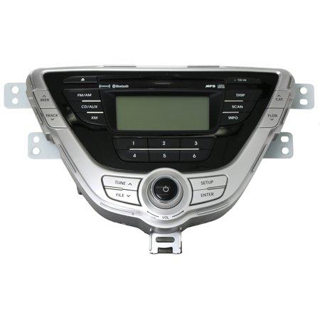 2011-2013 Hyundai Elantra Bluetooth Radio AM FM CD MP3 Satellite 96170-3X161BLH - Refurbished