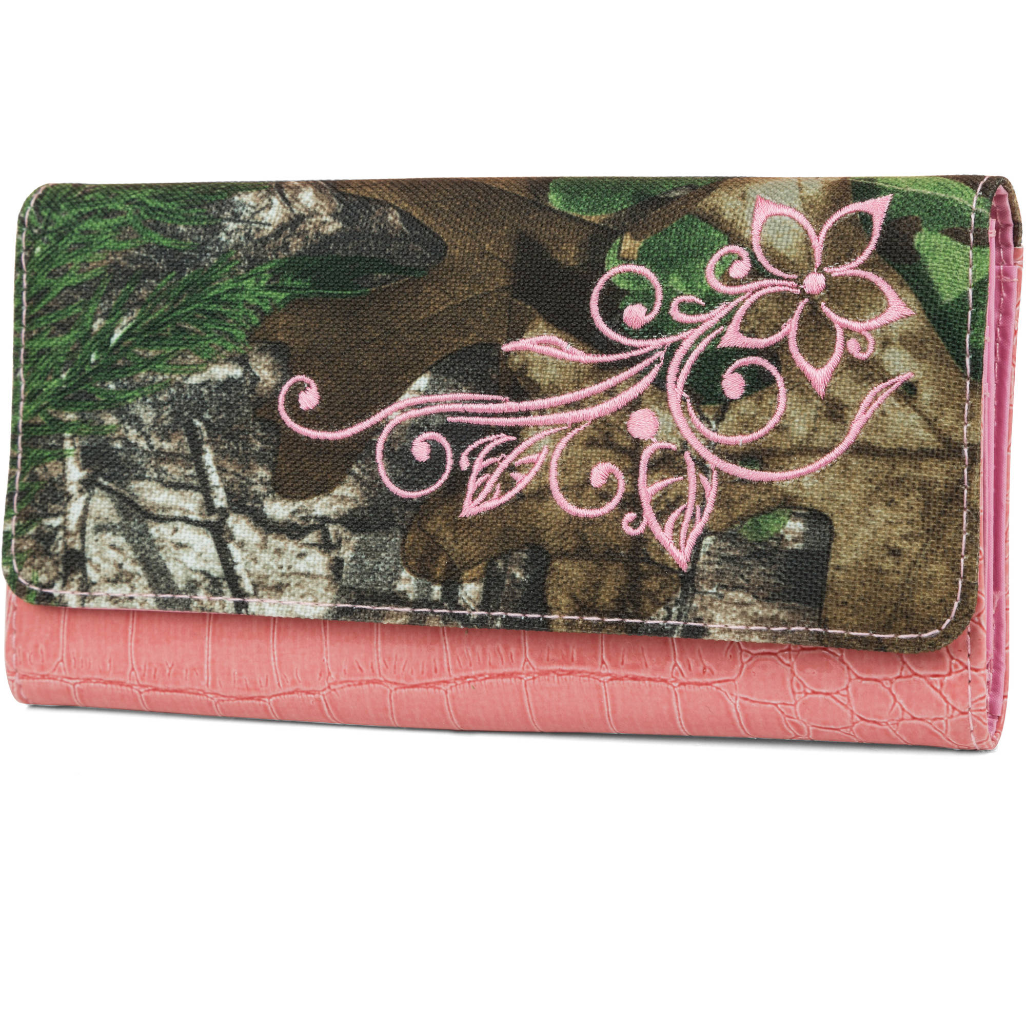 Real Tree Women's Tatoo Clutch Wallet