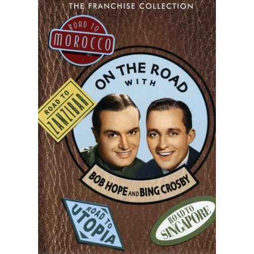 On The Road With Bob Hope And Bing Crosby: The Franchise Collection (Full Frame)