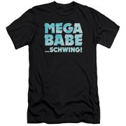 Saturday Night Live SNL Mega Babe Mens Slim Fit Shirt