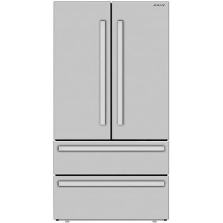 Sharp SJG2351FS 22 Cu. Ft. Stainless Steel Ft. 4-Door Refrigerator