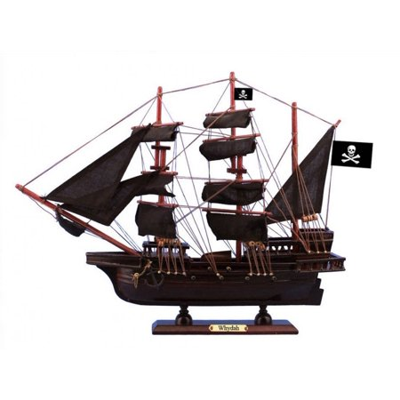 Model Ships Boats - Wooden Whydah Gally Black Sails Pirate Ship Model 15