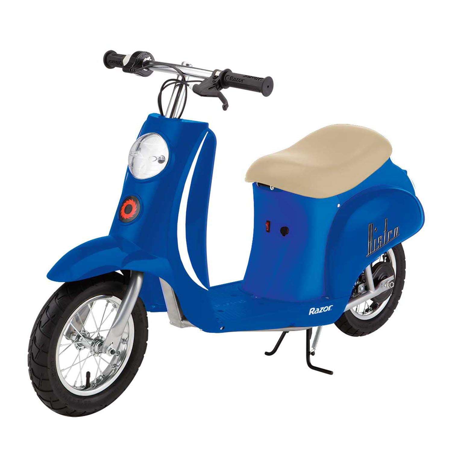 Razor Pocket Mod Miniature Euro 24 Volt 250 Watt Electric Retro Scooter, Blue by Razor