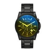 Armani Exchange Men's Ax2513 Black Stainless-Steel Japanese Quartz Dress Watch