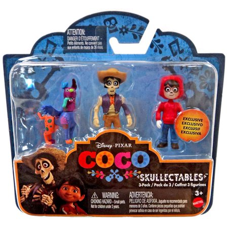 Disney / Pixar Skullectables Miguel, Hector & Dog Mini Figure 3-Pack Set - Hector Barbossa