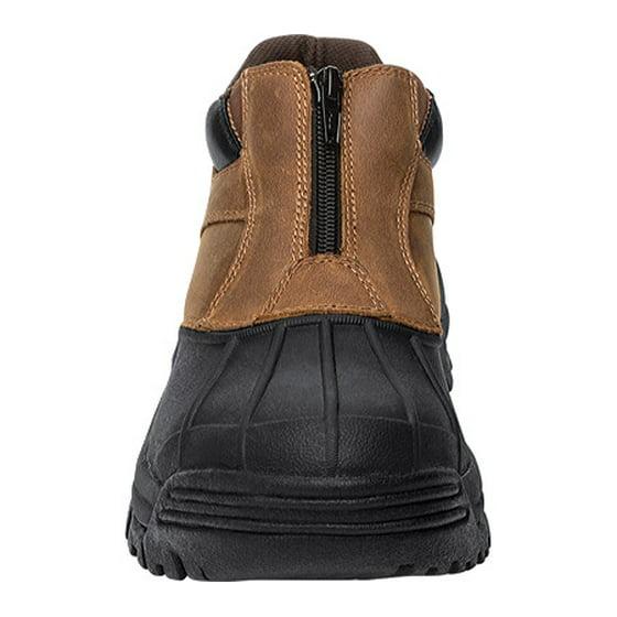 les les les hommes et # 39; s propet blizzard bottes imperméables cheville zip 0942ef