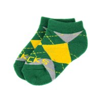 Oregon Ducks Baby Argyle No Show Sock