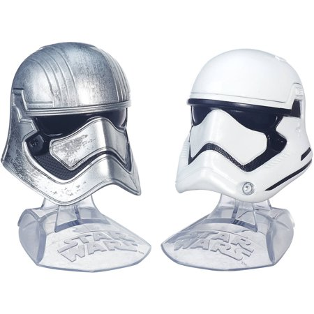 Star Wars: The Force Awakens Black Series Die Cast Phasma & Flametrooper](Star Wars Helmets For Sale)