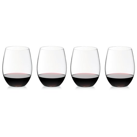 8 Riedel Vinum Cabernet (The O Cabernet Wine Tumbler 3+1 Value Gift Set, Machine made non-leaded crystal By)