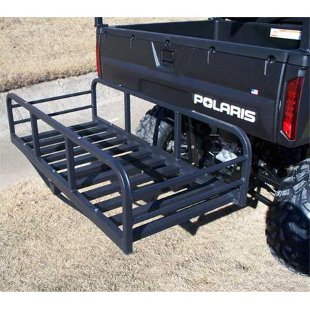 Great Day HNR2000ATV/UTV Hitch-N-Ride Magnum- with  Z Bar - 7 in.  rise- 12 in.  sides - Hitch Receiver Cargo Carrier - 2 in. -