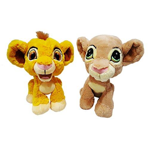 Disney Parks The Lion King Baby Simba And Nala 9 Plush Set