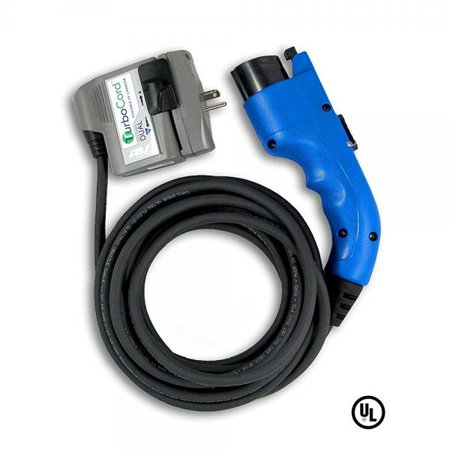 Aerovironment Turbocord Dual Plug In Ev Charger  120   240 Volt