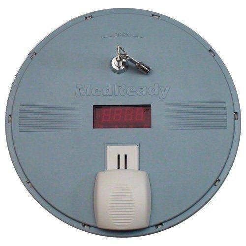 MedReady Automated Pill Dispenser 1750FL Medication Dispenser with Landline Modem with Flashing Light
