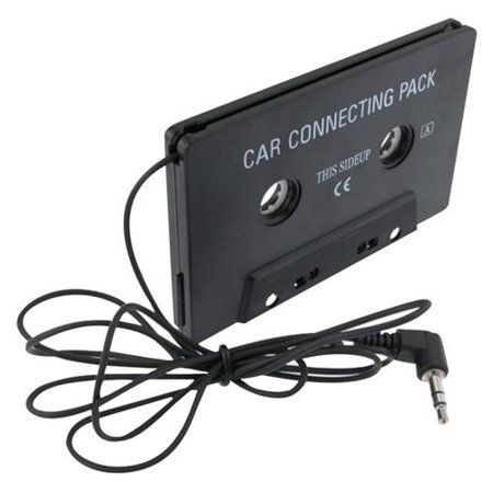 Insten Aux Car Cassette Adapter Universal Audio 3.5mm For Apple iPhone 6S 6 SE 5S 5 5C 4S Samsung Galaxy S9 S8 S7 S6 S10e Plus S5 HTC M9 M8 M7 Desire 530 626 LG G4 G3 G5 G6 K7 G Stylo 2 3 Aristo K20 (Cassette Tape Case For Iphone 4)