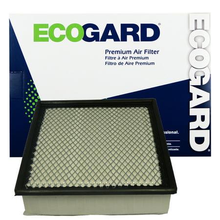 ECOGARD XA5512 Premium Engine Air Filter Fits Dodge Ram 2500, Ram 3500, Ram 1500 ()