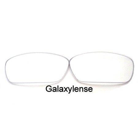 50dcfdb9f9a1 Galaxy Replacement Lenses for Oakley Costa Del Mar Fantail Crystal Clear  Color 100% UVAB - Walmart.com