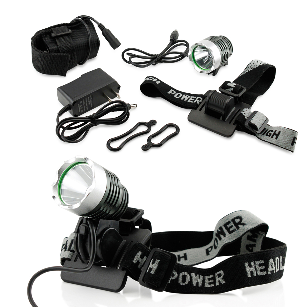 2500Lm CREE XML T6 LED Bike Cycling Bicycle Light Headlamp Front Head Light Headlamp Torch Lamp