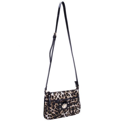 Parinda Leah Quilted Faux Leather Cross Body Bag