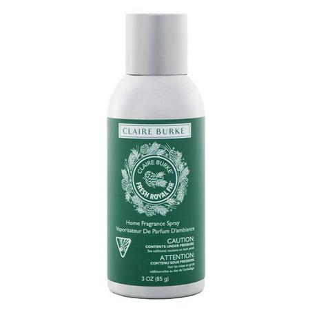 Claire Burke Vapourri Home Fragrance Spray 3 Oz    Fresh Royal Fir