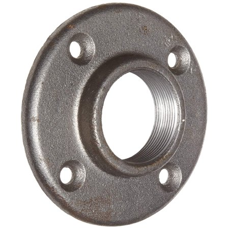 Anvil 8700163952, Malleable Iron Pipe Fitting, Floor Flange, 1