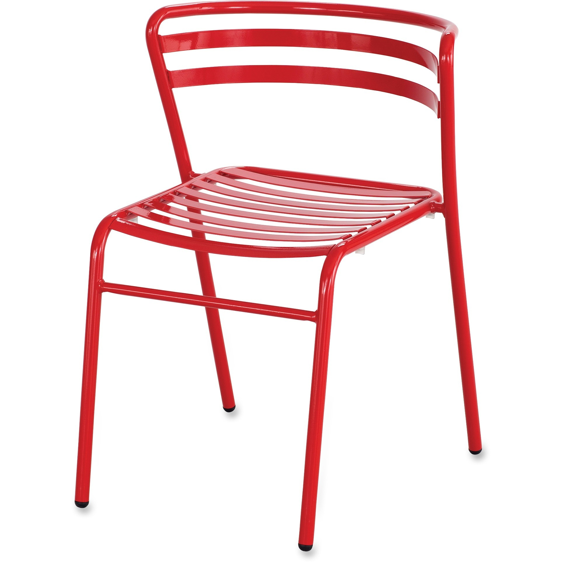 Safco, SAF4360RD, Multipurpose Stacking Metal Chairs, 2 / Carton