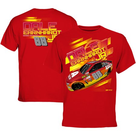 Dale Earnhardt Jr. Axalta Chassis 2 Spot T-Shirt - Red - (Dale Jr Toddler Clothing)