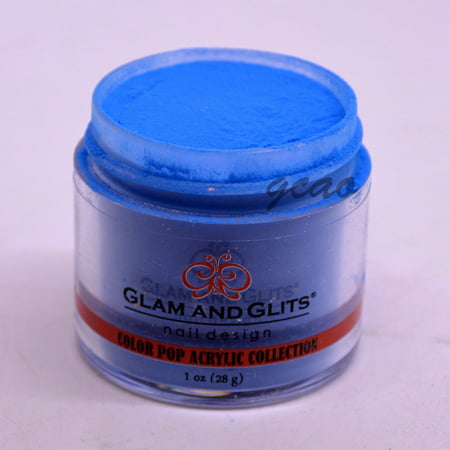(Glam and Glits Color Pop Acrylic Powder, Wet Suit-353, 1 oz)
