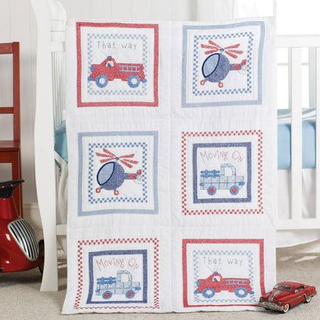 Bucilla Moving On Quilt Blocks Kit Walmart