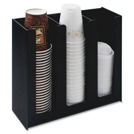 Vertiflex 3-column Cup and Lid Holder