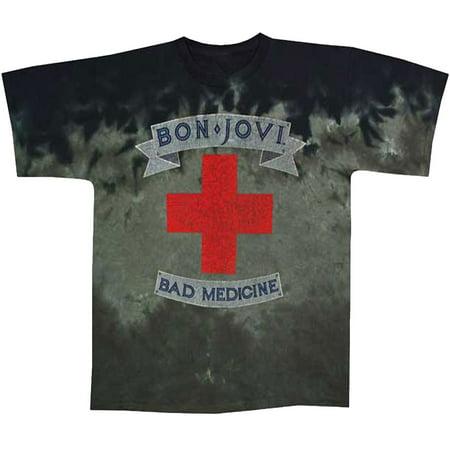 Bon Jovi Bad Medicine Tie Dye Adult - Jovi Elf