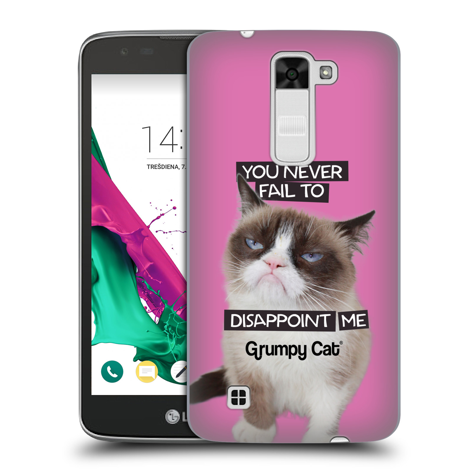OFFICIAL GRUMPY CAT QUOTES HARD BACK CASE FOR LG PHONES 3 - Walmart.com